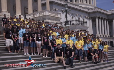 East Group on Capitol Steps