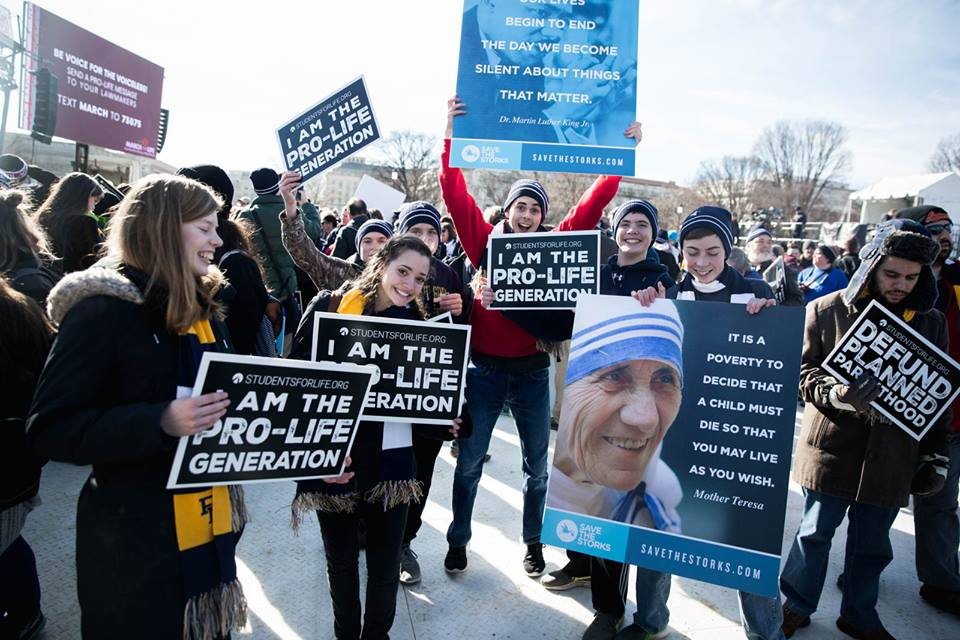 Students March for Life